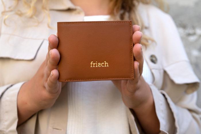 Produktbild Brieftasche ERDE mit goldener Prägung