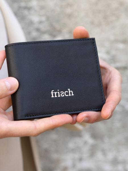 Produktbild Brieftasche Nacht mit silberner Prägung